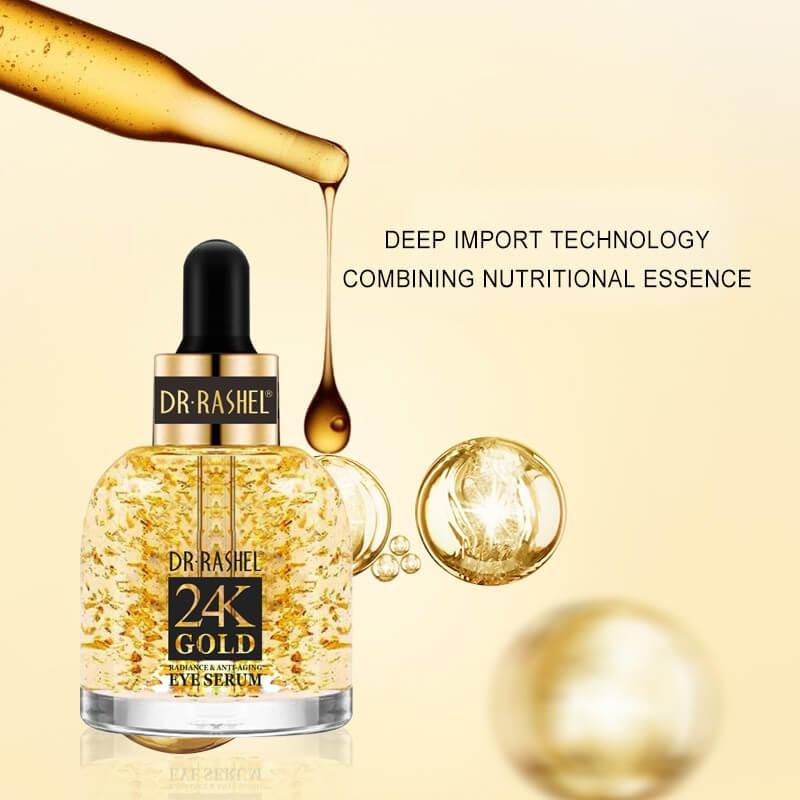 Buy DR.RASHEL 24K Gold Eye Serum Radiance Anti-Aging - 30ml | Eshaistic