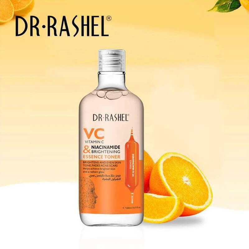 Buy DR Rashel Vitamin C Toner Niacinamide & brightening Essence - 300ml | Eshaistic